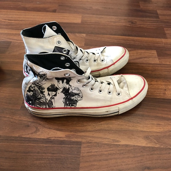 91f44acfc4901f Converse Other - Very rare Limited Gorillaz x converse collab